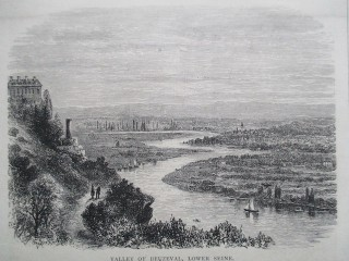 Valley of Beuzeval, lower Seine