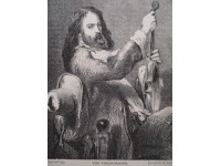 The violin player, le joueur de violon.