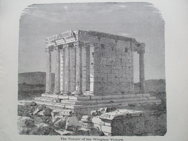 The Temple of the Wingless Victory