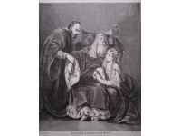 Lear attend by Cordelia and the Physician