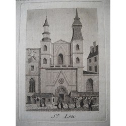 Paris - L'église Saint-Leu